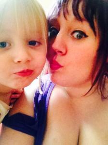 Myself and Mini-KAT enjoying taking some selfies.