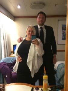 Black Tie night - dressing for dinner