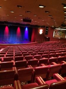 Theatre onboard Oceana Ship