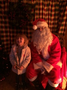 In Santa's Grotto