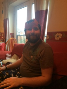 cracker hats, christmas day