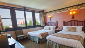 Sequoia Lodge Golden Forest Lake View Room, Disneyland Hotel Photo Credit: Disneylandparis.com