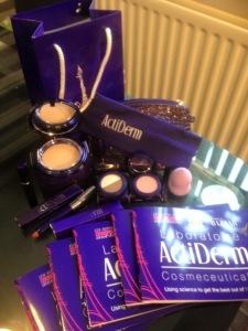 actiderm, actiderm selfie kit, makeup, mineral makup, skin sync makeup