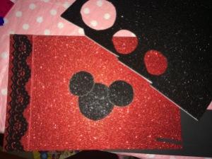 minnie mouse, disney, autograph books