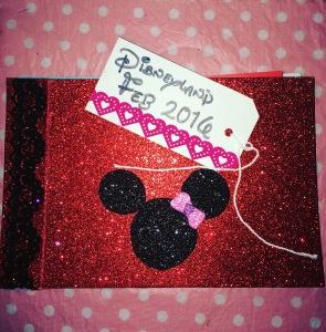 Disney Autograph book front cover